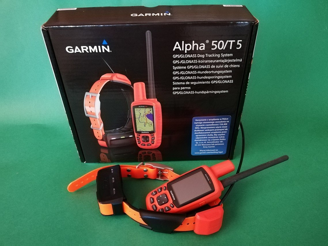 Garmin Alpha 50 T5 Polish version